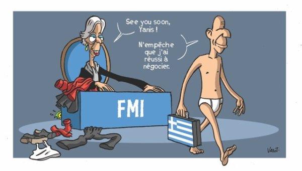 Les discussions entre la Grèce, la zone euro et le Fonds monétaire international (FMI) avancent lentement