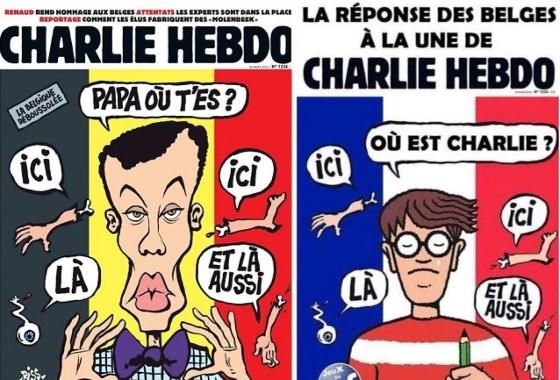 Tintin répond à Charlie Hebdo!