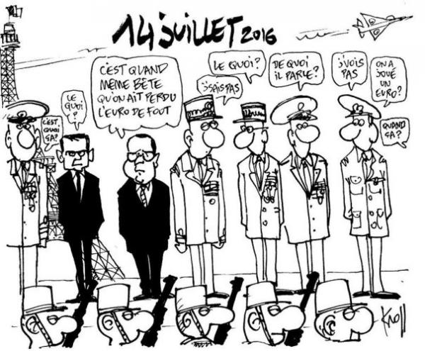 Bon 14 juillet à nos voisins français