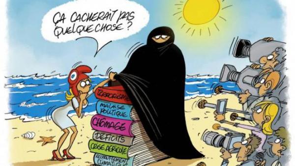 """""""On peut être choqué par le burkini sans pour autant l'interdire"""""""