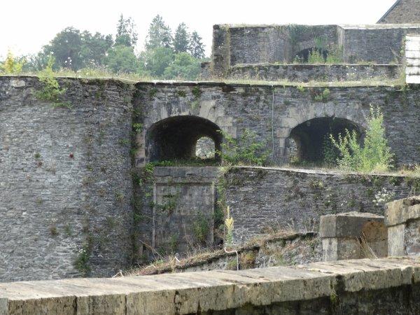 Bouillon vu du château fort.