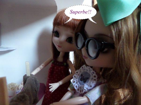 Arrivée de Wendy et Stella + présentation de la nouvelle doll house par Miya!