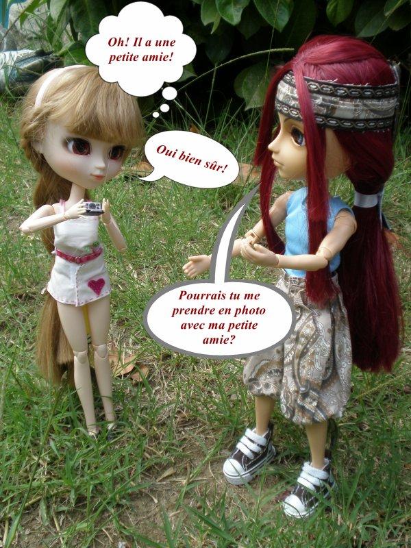 Miya teste son Polaroid! :D