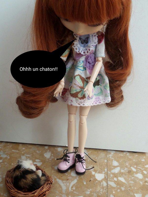 Un nouvel habitant dans la Doll House!!