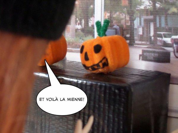 Décoration d'halloween!