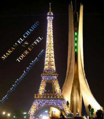 Tour eiffel algerie