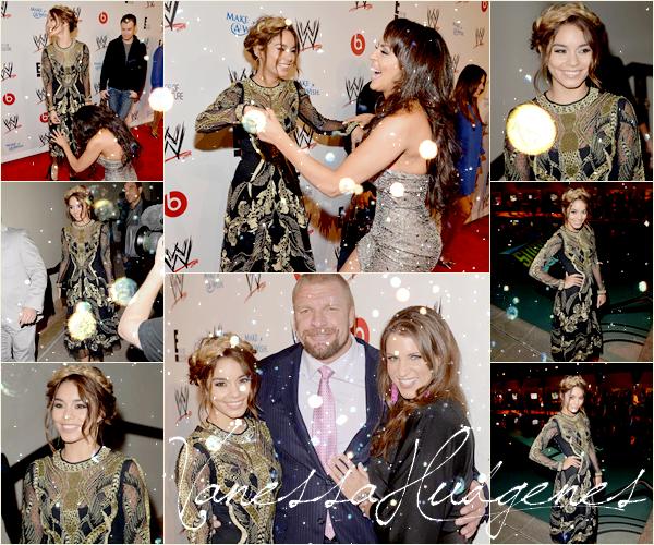 15.08.13 : EVENTS : Vanessa était à Beverly Hills pour la WWE et E!