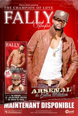 fally ipupa arsenal de belle melodie album