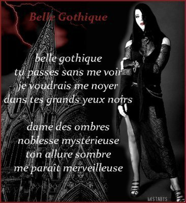 poeme gothique (l)