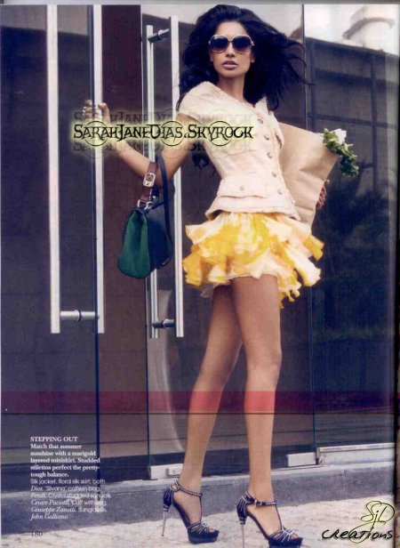 Sarah-Jane Dias / May Issue Vogue 2011