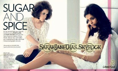 Sarah-Jane Dias Vogue May 2011 Scans HD