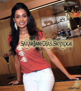 Sarah Jane Dias is all attitude and bling. SRAVASTI DATTA gets to hear about all the hard work she's put into being an actor.