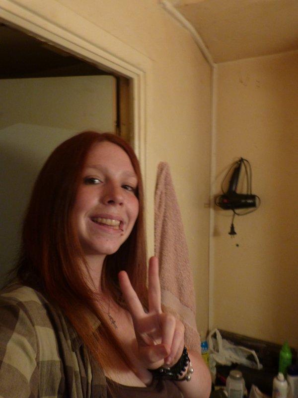 Moi, 18 ans et rousse.