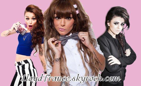 Toute l'actualité de la belle Cher Lloyd. http://LloydFrance.skyrock.com