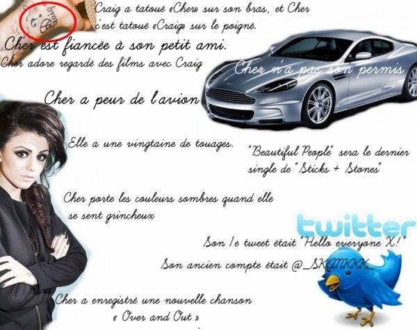Quelques info sur Cher Lloyd