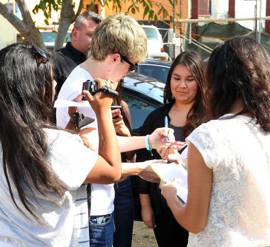 Niall fesant du shopping à Los Angeles le 7/11