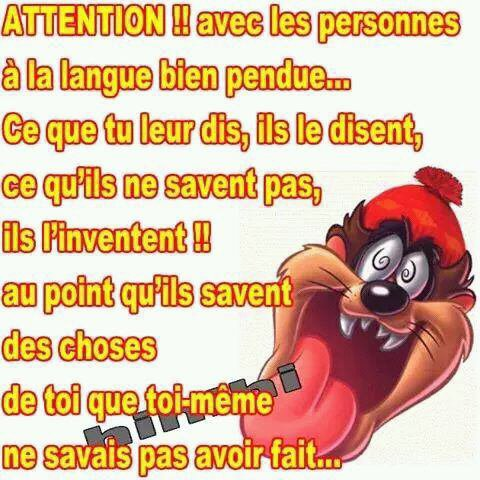 Petit message !