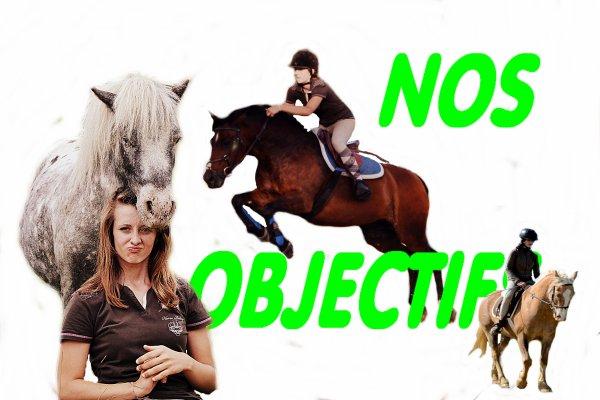 OBJECTIFS /!\