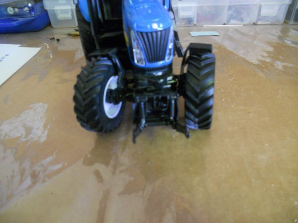 Modification New holland T 8040.