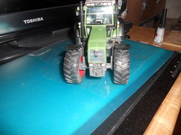 Modification Fendt 824