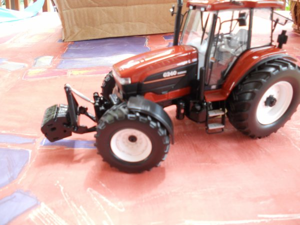 Modification Fiatagri G 240.Le tracteur est vendu.