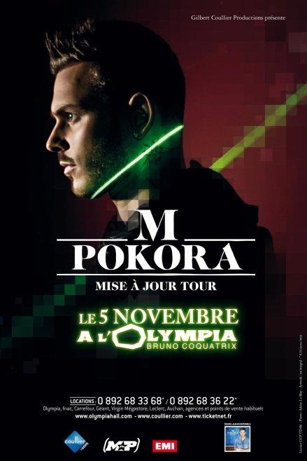 M. Pokora en tournée cet automne et au Zénith de Paris en mai 2012