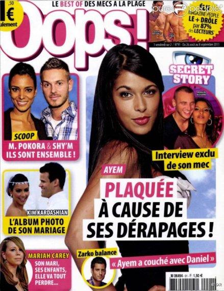 News 27 Août 2011 : Rumeur : M.Pokora et Shy'm amoureux ?