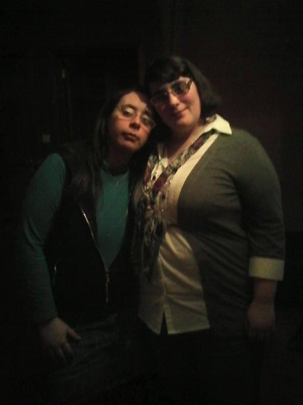 ma belle soeur cindy et ma femme