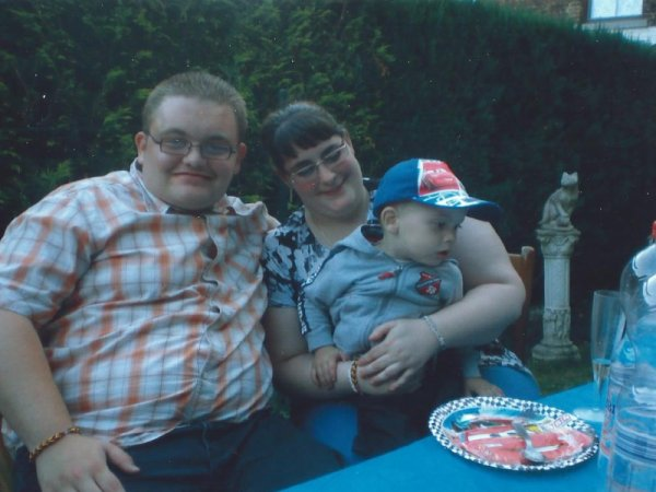 moi et ma femme et notre peuti neveux