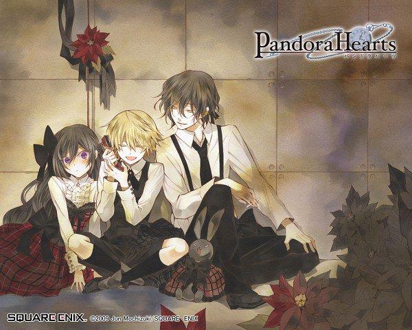 Les trois Héros de Pandora Hearts! ^^