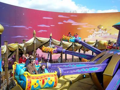 Les Tapis Volants Flying Carpets Over Agrabah Entre Wonderland
