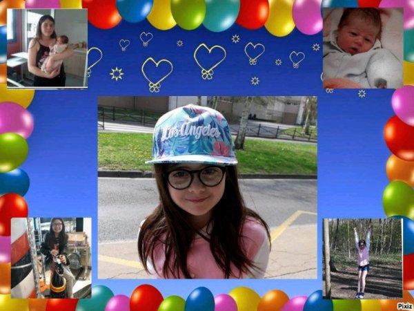 Il a 10 ans, je mettait au monde ma troisième merveille, papa et maman te souhaite un bon anniversaire,on t'aime