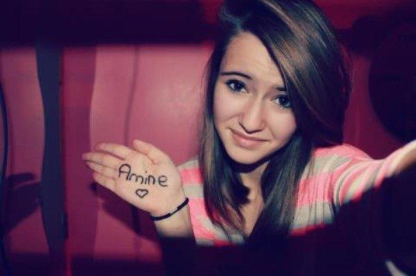Amine.♥