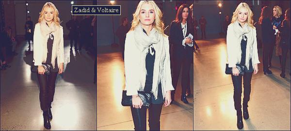 - 13&14/02/17 - La belle Lottie était présent aux évenements de Zadig & Voltaire et d'Oscar de la Renta à NY. Le 15 & 16 février la mannequin Lottie Moss à était vu aux évenements de Marc Jacobs. Un top pour ses sorties et ses tenues. -