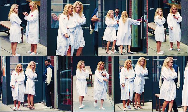 • PHOTOSHOOT || C'est accompagnée par Sofia que Blondie à était vu sur le set d'un photoshoot à N-Y. •