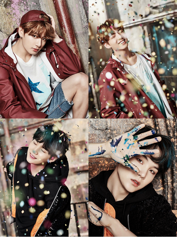 #Actu - série de photos pour leur nouvel album + site internet Big Hit