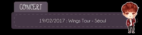 #Concert - 18.08.2017 Séoul + preview