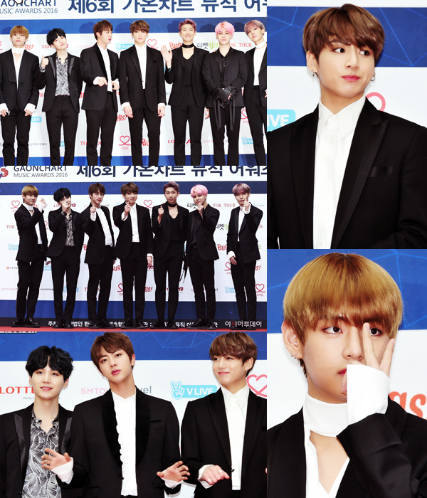 #Appearance - 6th Gaonchart Music Awards (Cérémonie + Red Carpet)