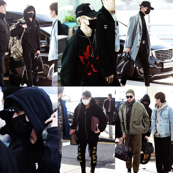 #HappySugaDay + photos Music Core + Candids à l'aéroport