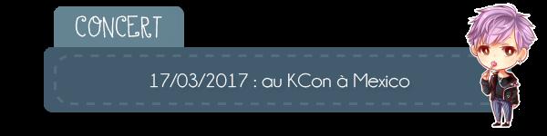#Actu - Concert au Kcon à Mexico + More BTS...
