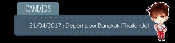 | Candids départ pour Bangkok | Inauguration BTS Brick Live Café | Run BTS | Twitter | Info