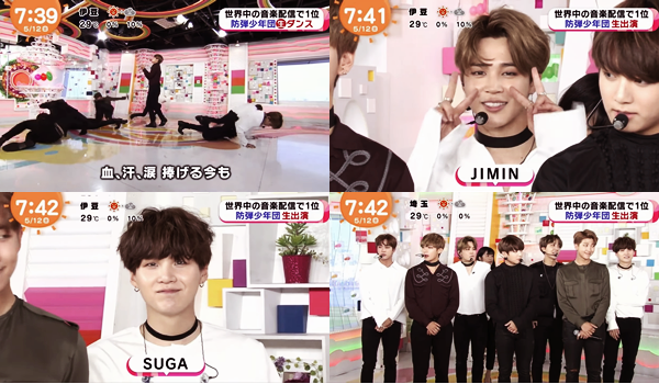 | Concerts Hong-Kong | Performances à la TV japonaise | BTS Gayo 14 Behind the Scene | Twitter