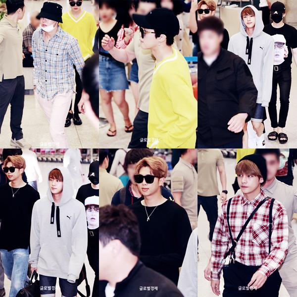 | Photos de familles | Candids à l'aéroport de Séoul | Twitter