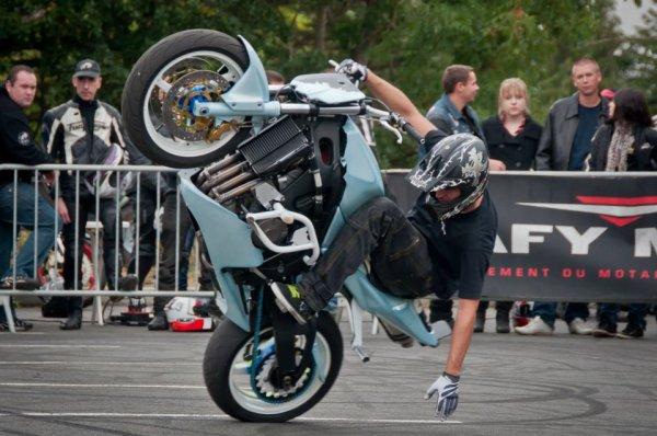 show stunt dafy moto langueux