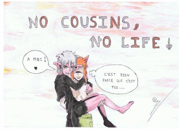 Louis et Camille : << NO COUSINS, NO LIFE ! >>