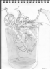 Dragon dans un verre