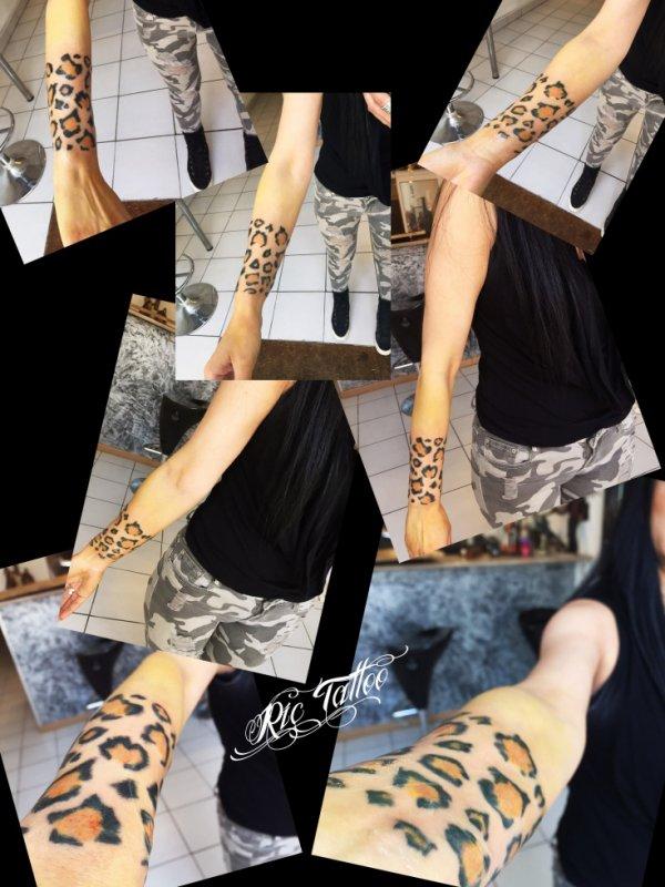 Ric Tattoo 06.19.88.58.27 / 04.91.50.80.04 /// Taches Leopard, Félin, Féline.