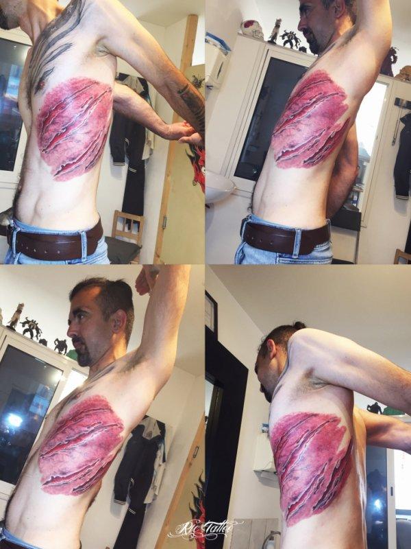 Ric Tattoo 06.19.88.58.27 / 04.91.50.80.04 /// Griffures, Déchirures, Griffes.s