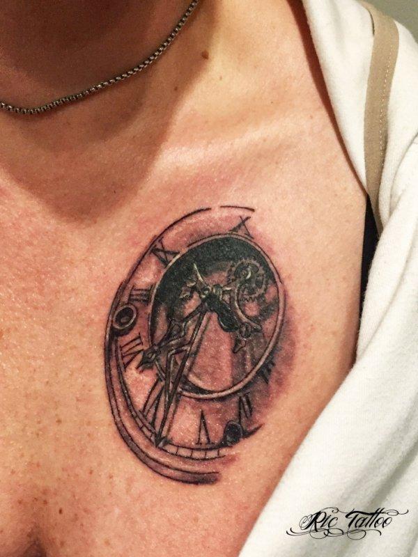 Ric Tattoo 06.19.88.58.27 / 04.91.50.80.04 /// Orloge / Montre.