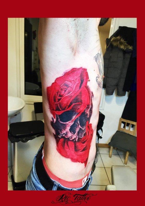 Ric Tattoo 06.19.88.58.27 / 04.91.50.80.04 /// Roses / Crane / Cotes.